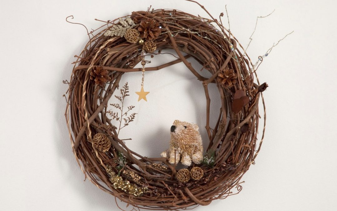 Storytelling Wreaths and Holiday Art